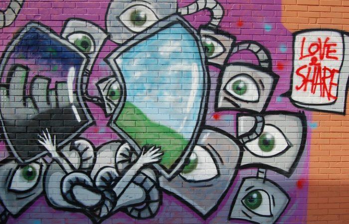 Love&Share Graffiti Art